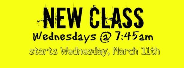 New Wednesday Class