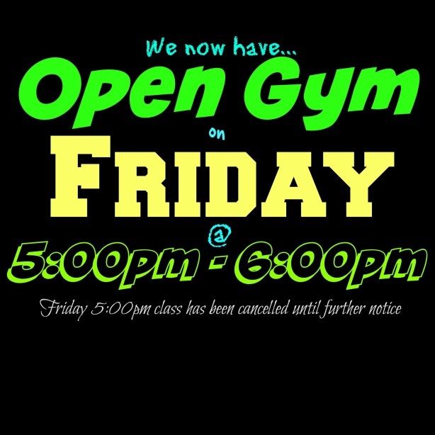 Open Gym Friday