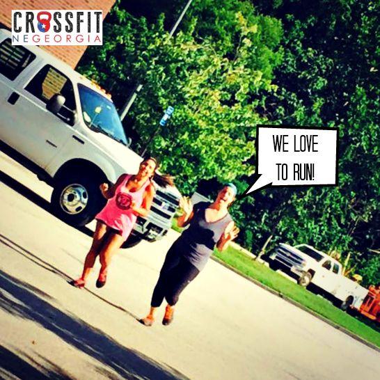 Ashton and Alexis Running