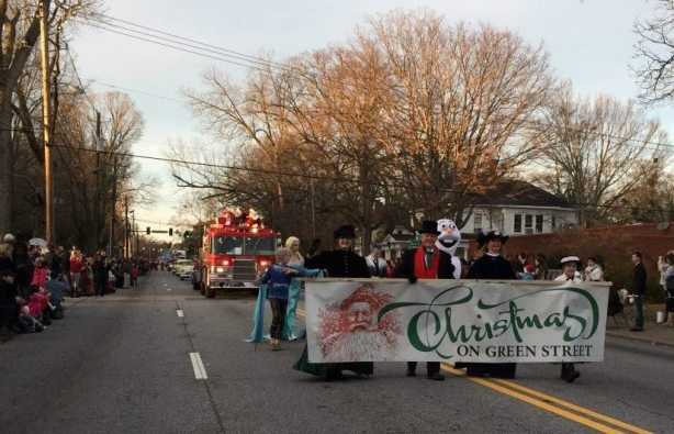 Come join us today on Green Street for the 2015 Christmas Parade. (If you would like to be on our float be at First Baptist Church at 3:45pm in your BEST Christmas attire)