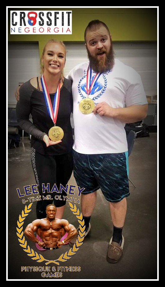 Chris McCann received 1st Place at the Lee Haney Games this weekend!
